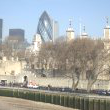 The Tower of London... and the Gherkin, le Cornichon !